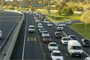 N2 Bus lane