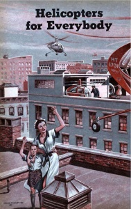 A Commuting future, 1950s image