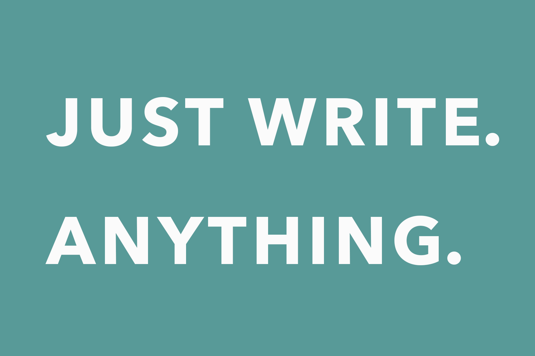 Lisa Kane_Mommy PhD_Just write