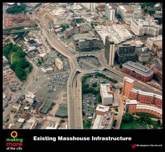 Existing masshouse infrastructure